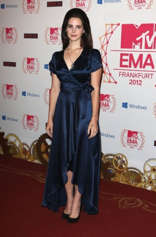 Lana Del Rey Dress 2012 MTV EMAs Red Carpet