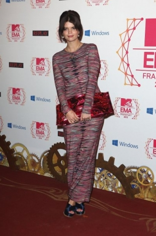 Pixie Geldof Dress 2012 MTV EMAs Red Carpet