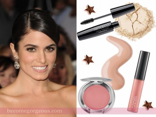 Nikki Reed Natural Makeup Look