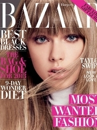 Taylor Swift Talks Fashion with Harper's Bazaar December 2012