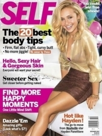 Hayden Panettiere Reveals Diet and Workout Secrets to Self Magazine