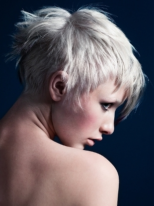 Pixie Haircut for Rounded Faces