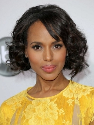 Kerry Washington Hairstyle 2012 AMAs