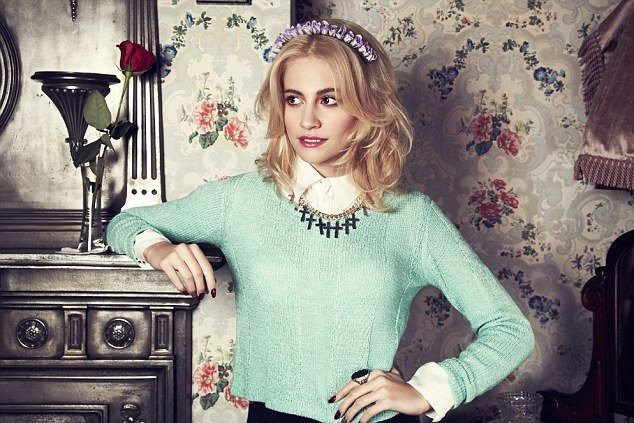 Pixie Lott for Rock N' Rose Accessories Collection.