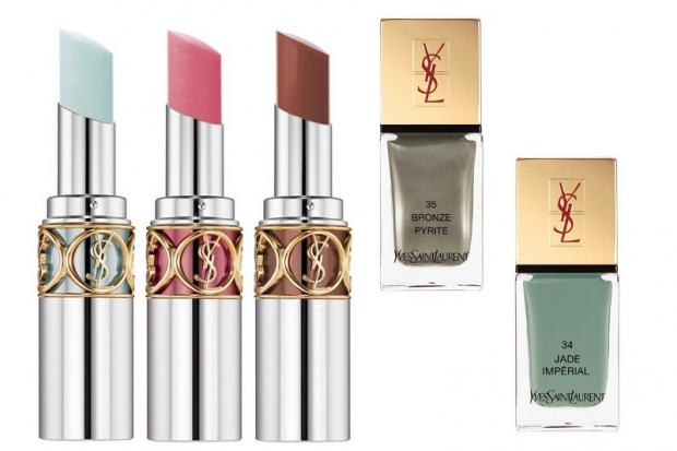 YSL Rouge Volupte Lipstick and Nail Lacquers Spring 2013 Makeup