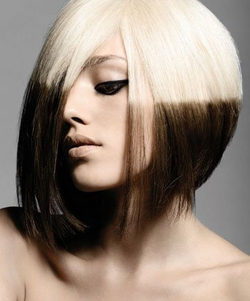 Blonde and Black Hair Color Ideas|