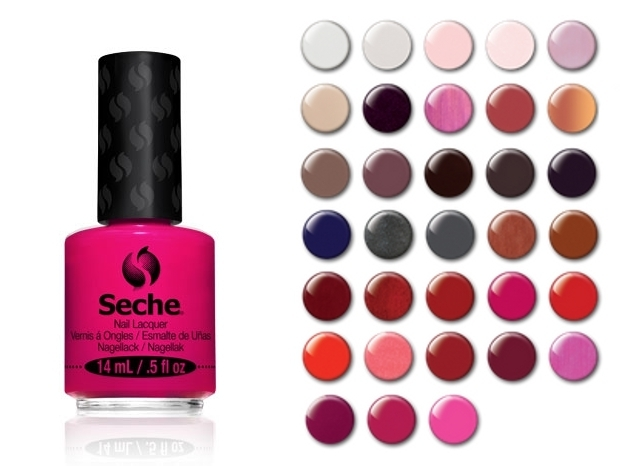 Seche Launches Nail Lacquers