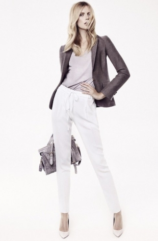 Massimo Dutti October 2012 Lookbook