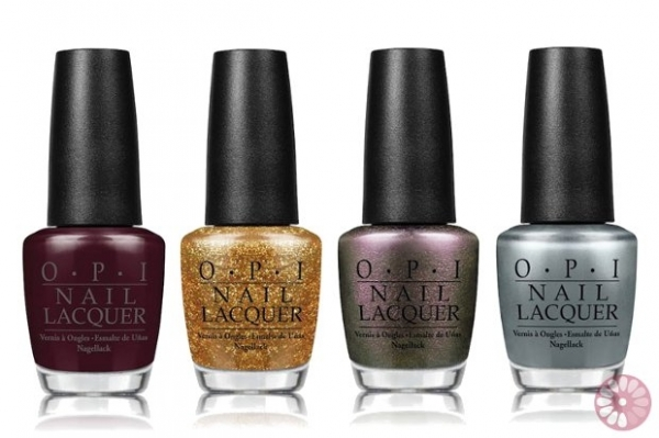 OPI Skyfall Holiday 2012 Nail Polish Collection