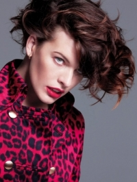 Milla Jovovich for Marella Fall/Winter 2012 Campaign