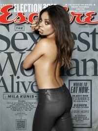Mila Kunis Named 'Sexiest  Woman Alive' for 2012 by Esquire