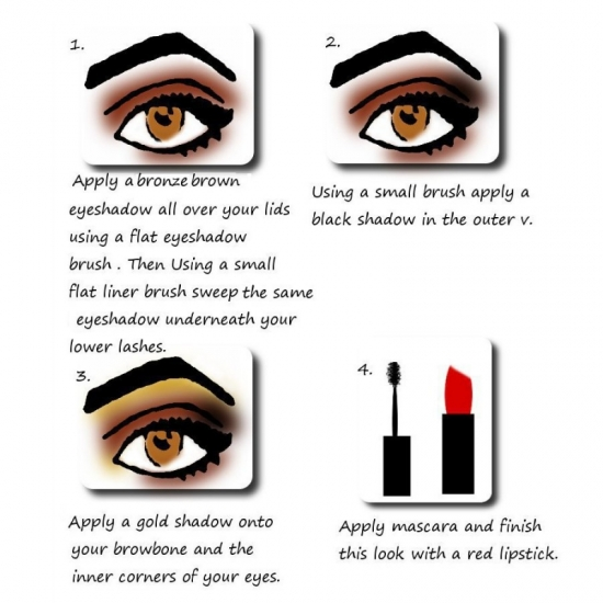 Autumn Eye Makeup Tutorial by BeautyBow.com
