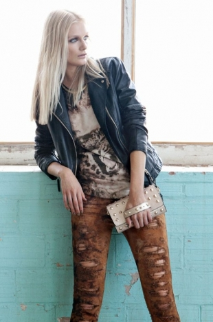 Bershka October 2012 Lookbook