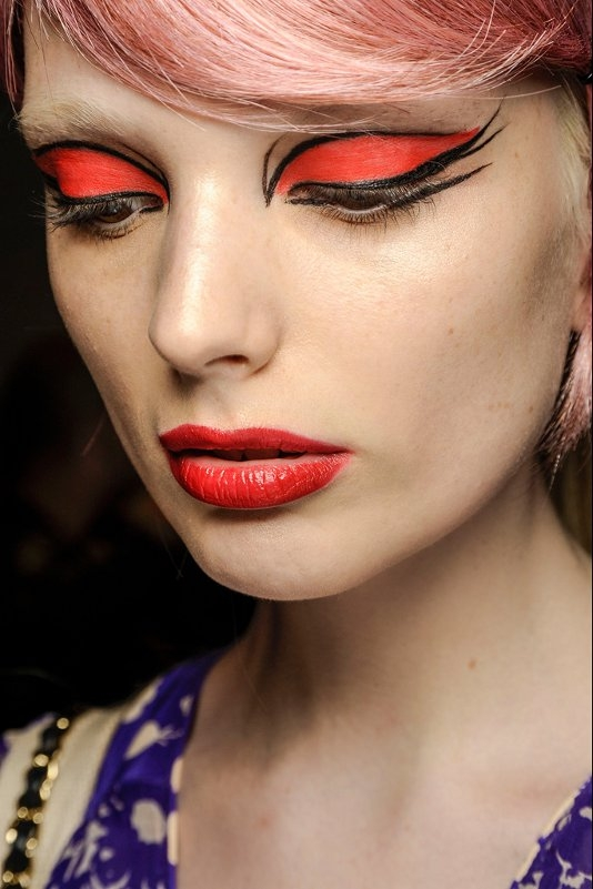 Halloween Makeup Looks From The Runway