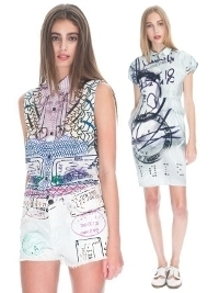 Current/Elliott x Mary Katrantzou Spring/Summer 2013 Collection