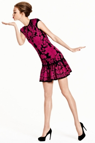 Karlie Kloss for Neiman Marcus Christmas Book