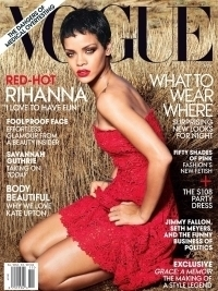 Rihanna Talks Chris Brown and Smoking Pot in Vogue November 2012