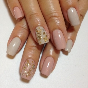 flirty fall nail art designs