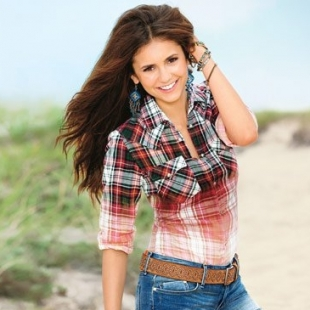 Nina Dobrev Covers SELF November 2012