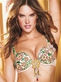 Alessandra Ambrosio to Wear the Victoria's Secret Fantasy Bra 2013