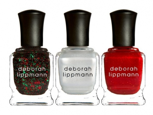 Deborah Lippmann Christmas In the City 2012 Nail Polishe Trio