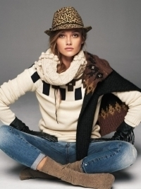 Karmen Pedaru for Mango Winter 2012 Collection