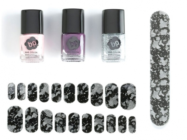 BP Lace Nail Art Set 2012