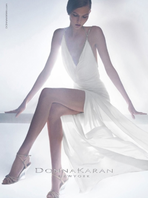 Karlie Kloss for Donna Karan Resort 2013 Campaign