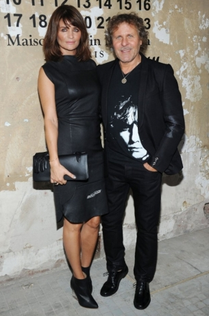 Helena Christensen Maison Martin Margiela with H&M at Global Launch Event