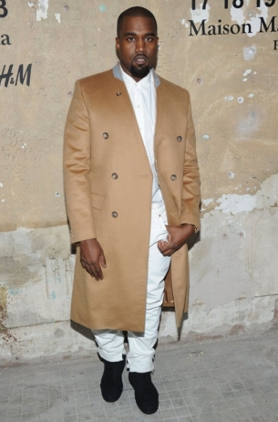 Kanye West Maison Martin Margiela with H&M at Global Launch Event