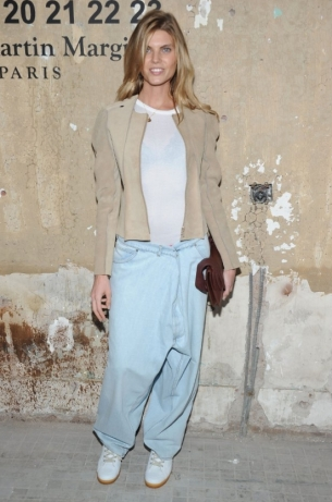 Maryna Linchuk Maison Martin Margiela with H&M at Global Launch Event