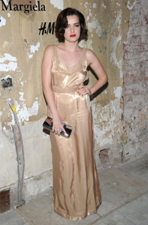 Roxane Mesquida Maison Martin Margiela with H&M at Global Launch Event