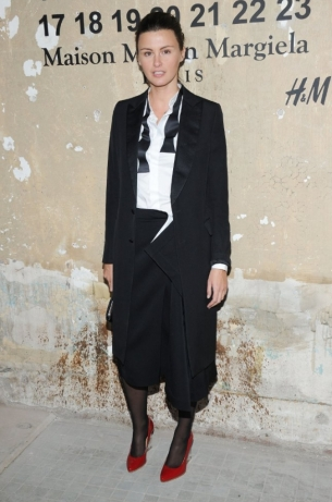 Trish Goff Maison Martin Margiela with H&M at Global Launch Event