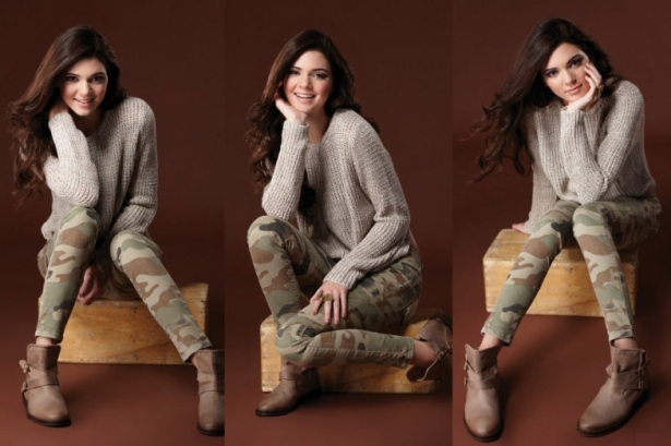 Kendall and Kylie Jenner for CAR MAR Fall 2012 Collection