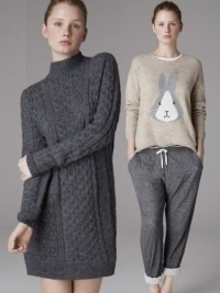 Oysho 'The Wool Homewear' Lookbook