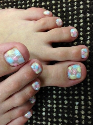 Pretty Pedicure Nail Art Designs