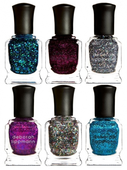 Deborah Lippmann Glitter Nail Color Collection