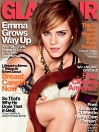 Emma Watson Covers Glamour US October 2012