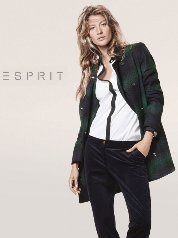 Gisele Bundchen for Esprit Fall 2012 Campaign