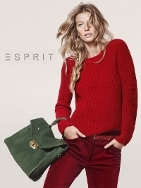 Gisele Bundchen for Esprit's Fall 2012 Campaign