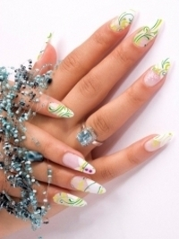Pretty Fall 2012 Nail Art Designs