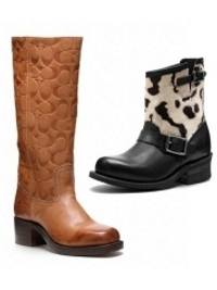 Frye for Coach Fall 2012 Boots Collection
