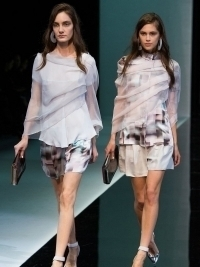 Emporio Armani Spring 2013 Collection