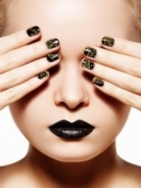 DIY Nail Art Ideas for Fall 2012