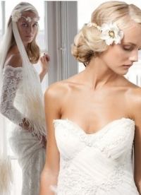 Jannie Baltzer 2013 Bridal Headpiece Collection