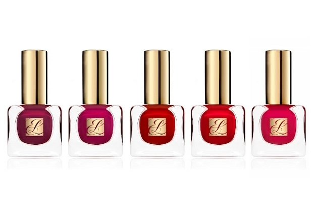 Estee Lauder Pure Color Nail Lacquer Red Hautes Winter 2012 Collection