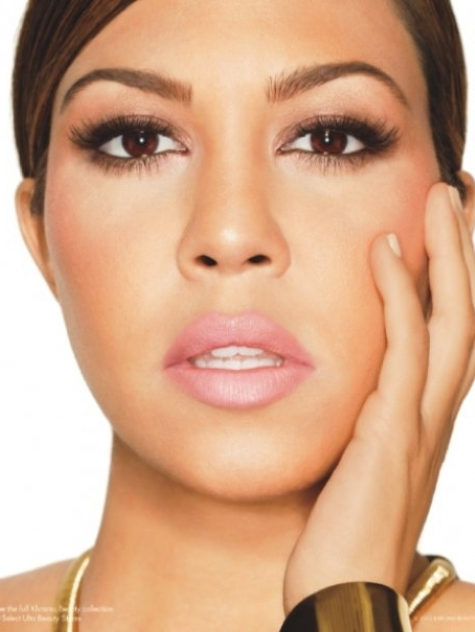 Kourtney Kardashian Khroma Beauty Promo