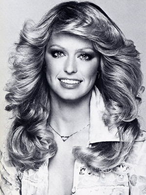 Farrah Fawcett 1970s Beauty Icon
