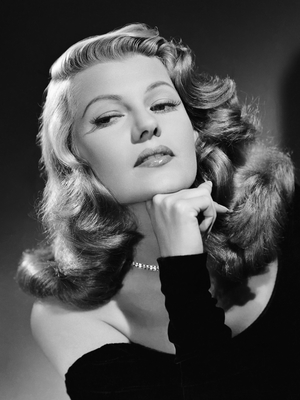 Rita Hayworth 1940s Beauty Icon