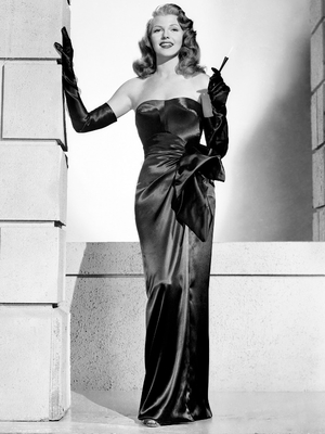 Rita Hayworth 1940s Icon